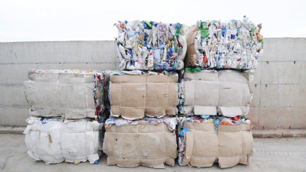 Recycling waste collection network consolidated